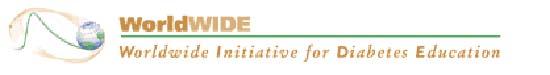 logo Worldwide Initiative for Diabetes Education